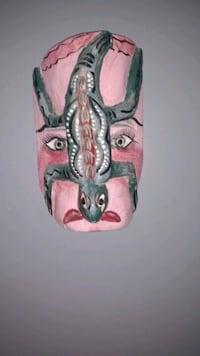 Hand carved south American Mask Edmonton, T5K 2A5