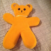 yellow and red bear plush toy Gaithersburg, 20879