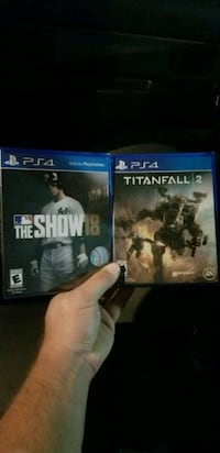 PS4 GAMES still in package  Charlotte, 28206