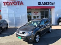 2015 Toyota RAV4 Limited 2.5L One Owner SUV Navigation Bluetooth GLADSTONE, 97027