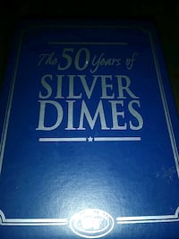 THE 50 YEARS OF SILVER DIMES,27 REAL SILVER DIMES Baltimore, 21218