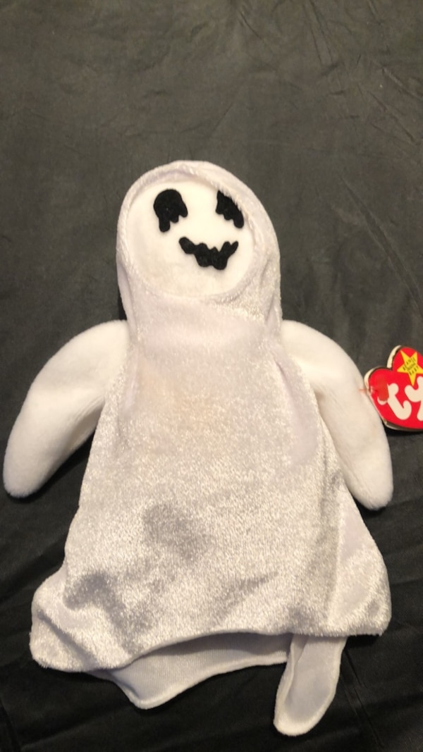 0668caa4937 Used Ty beanie baby sheets the ghost for sale in Irving - letgo