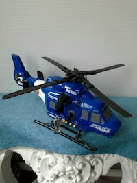 Tonka police helicopter. Lights up & sounds Acton, L7J 2M1