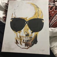 Skull in Tom Ford Sunglasses print  Barrie, L4M 6S2