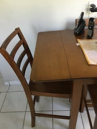 brown wooden dining table set Pickering, L1V 2Z6