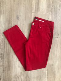 NEW Juniors  red skinny jeans size 9 Edgewater, 21037