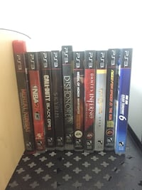 Ps3 games $10 each Chestermere, T1X 0T4