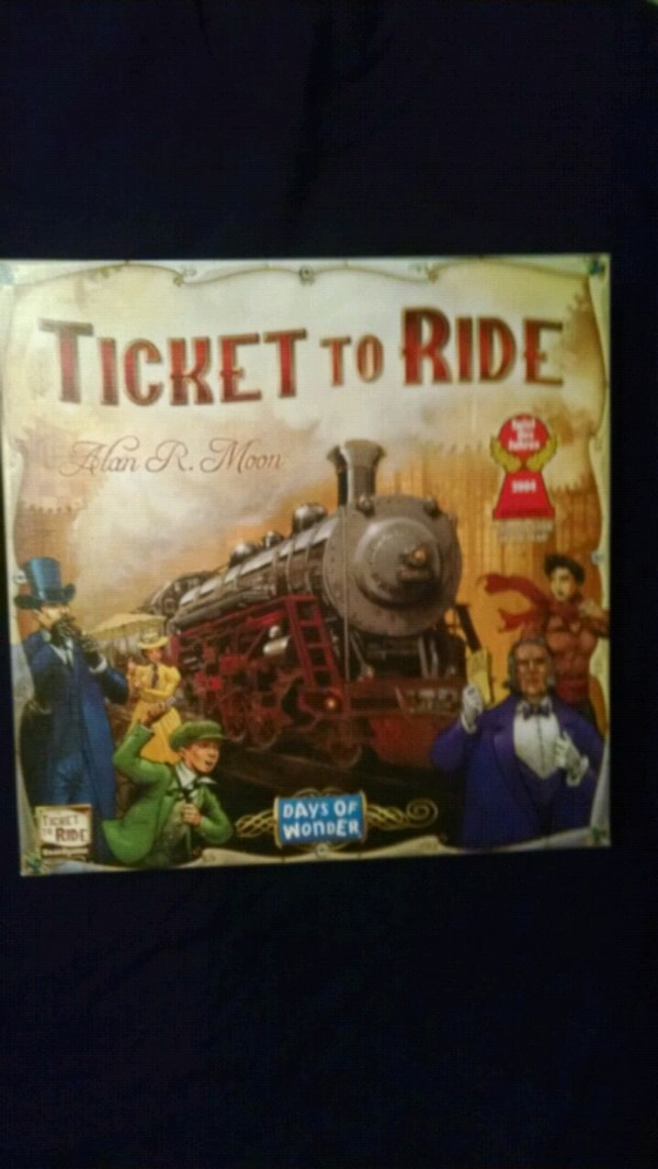 NEW IN BOX  TICKET TO RIDE