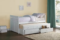 TWIN TRUNDLE BED San Jose