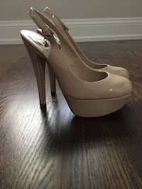 pair of beige leather pumps Milton, L9T 2R6