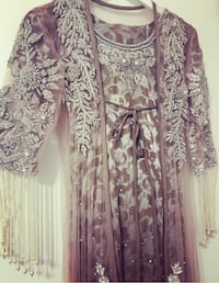 Women's brown and silver floral dress Toronto, M1B 2C7