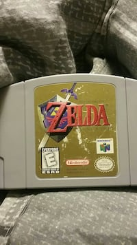The Legend of Zelda Nintendo 64 game cartridge Ottawa, 61350