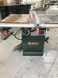 gray and black Craftsman table saw Mississauga, L5N 3E4