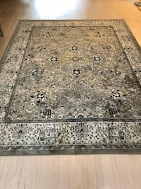 gray and black floral area rug Toronto, M2N 5H6