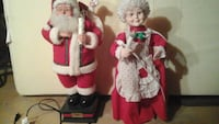 Mr and Mrs clause.they move , candle lights up Brampton, L6T 1S8