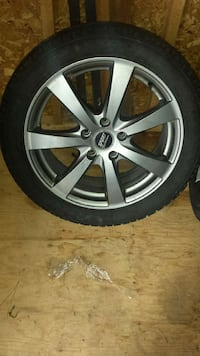 grey 7 spoke car wheel Repentigny, J5Y 1A6