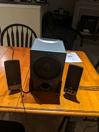 2.1 Cyber Accoustics Subwoofer Lawrence, 01843