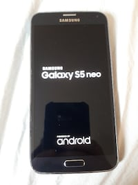 Unlocked Samsung Galaxy 5s Neo(with case, charger) Kelowna