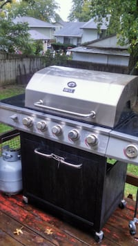 Stainless gas grill  Davenport, 52806