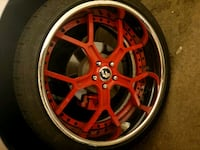 "Forgiato GTR rims 22""  North Las Vegas"