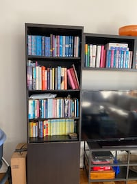 Ikea bookcase/cabinet/tv display unit