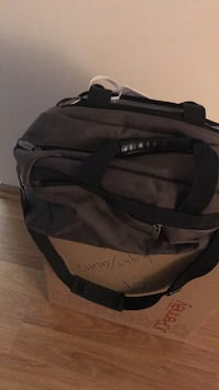 Black and gray duffel bag Oak Forest, 60462