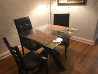 rectangular brown wooden table with chairs Larchmont, 10538