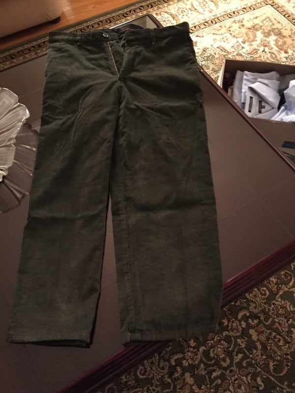 Brand new green corduroy pant 1