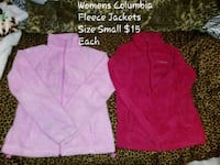Womens Columbia Fleece Jackets Small  Charles Town, 25414