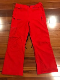 Volcom Ventral Ski and Snow Pant Red Size Small S/P - Fire Red