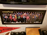 Framed Nascar photo Chesapeake, 23321