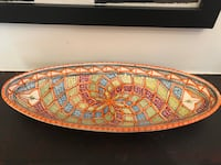 Beautiful hand painted ceramic bowl from Egypt  Toronto, M4X 1N9