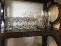 22 Martini/wine/ beer/margarita glasses(unused) Elkridge, 21075