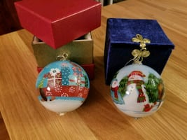 Pier 1 2013 and 2014 ornaments