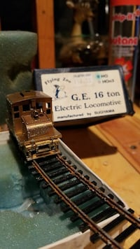 flying zoo G.E 16 ton brass electric train  Anchorage, 99504