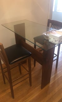 Glass Countertop Table