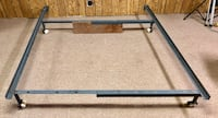 Adjustable Metal Bed frame Queen/Double Calgary, T2A 3J8