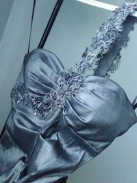 Silver mermaid dress special occasions Toronto, M6M 1P5