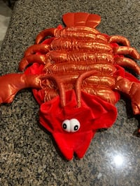 Dog lobster costume  Calgary, T3M 1G5