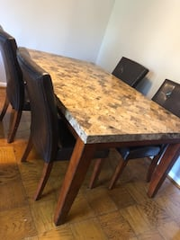 Beautiful Granite Top Dinning Table Rockville, 20852