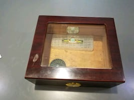 Cigar Box With Dial