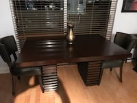 Dining Table & 4 Chairs Miami