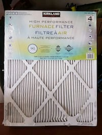 High performance furnace filter from Costco  East Gwillimbury, L9N 0C1