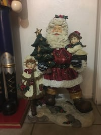 """Vintage Large Santa Clause - 28"""" Tall HEAVY made out of resin Palmdale, 93552"""