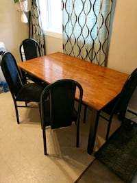 brown wooden dining table set Edmonton, T5A 1C5