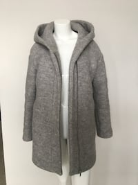 Zara Oversized winter Wool Coat with Hood Burnaby, V5C 5A9