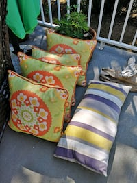 Bright and Cheerful outdoor cushions  Victoria, V8Y 2B6
