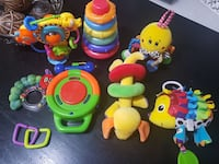 Assorted baby toys  Mississauga, L5T