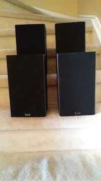KLH speakers (4 available) Brampton, L7A 1S8