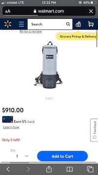 backpack vacuum North Las Vegas, 89030